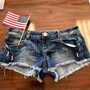 Almost Famous Jean shorts juniors size 13
